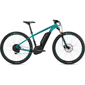 "Ghost Hybride Teru B 4.9 AL 29"" E-mountainbike sort/turkis"